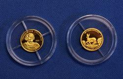 Columbus and Krugerrand Mini Gold Coins