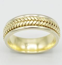 Men's 14kt Gold Wedding Band- Size 10