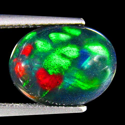 Sultry 2.85ct natural Ethiopian Black Opal