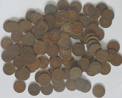 Lot of Unsearched 118 Indian Head Cents