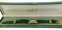 Authentic Gucci 2600M Gold Tone Watch