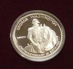 1982 PROOF Washington Silver (90%) Half Dollar