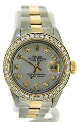 Rolex Ladies Datejust 2 Tone 26mm Watch