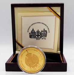 Limited Edition 2005 Knights of Malta Proof Gold Coin 5 OZ!