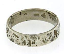 Silpada Hammered Band Ring