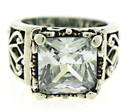 Silpada Princess Cut Cubic Zirconia Ring