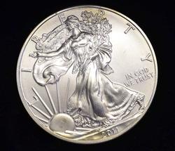 2011 BU Silver Eagle in Box