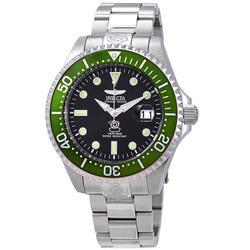 New Green Bezel Mens Automatic Invicta Diver