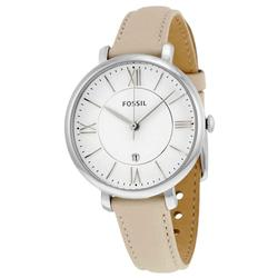 New Ladies White Dial Fossil w Date
