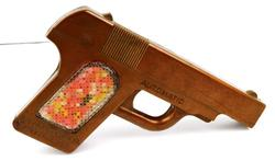 Vintage Toy Pistol Candy Container