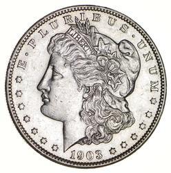 1903-S Morgan Silver Dollar - Circulated