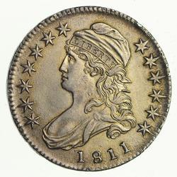1811 Capped Bust Half Dollar - Near Uncirculated