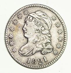 1821 Capped Bust Dime - Circulated