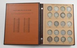 Complete Set of Liberty Head Half Dollars - Dansco Coin Book