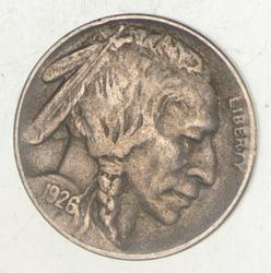 1926-S Indian Head Buffalo Nickel