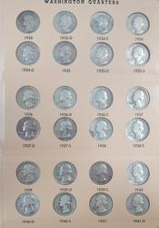 Washington Quarter Set 1932-1969 P,D & S (1932 S XF)