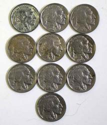 Lot of Near Unc Later Buffalo Nickels