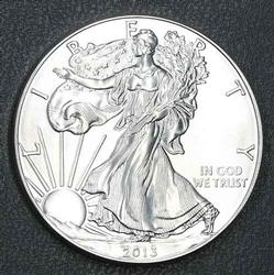 Choice Really Frosty Unc 2013 Silver Eagle