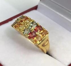 14kt Gold Sapphire Band Ring
