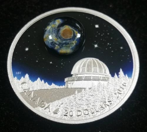 Canada 2016 $20 Mother Earth Pure Silver Coin Box CoA