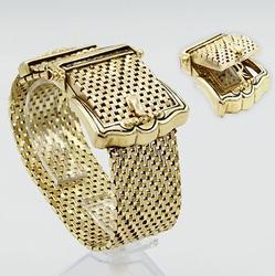 Antique Geneva 14kt Yellow Gold Watch