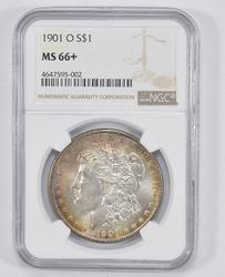 MS66+ 1901-O Morgan Silver Dollar - NGC Graded