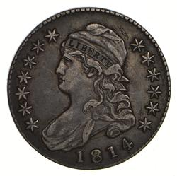 1814 Capped Bust Half Dollar - Circulated