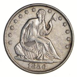 1856-O Seated Liberty Half Dollar - Circulated
