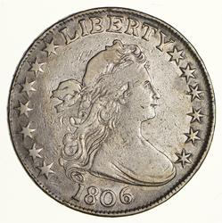 1806 Draped Bust Half Dollar - Pt 6 No Stem - Circulated