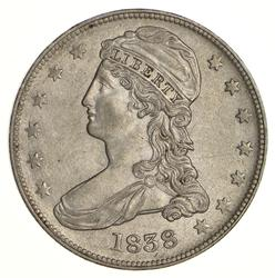 1838 Capped Bust Half Dollar - Near Uncirculated