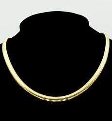 14kt Yellow Gold Snake Chain Necklace