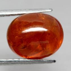 Amazing top red orange 9.51ct Namibian Garnet