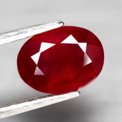 Fantastic 2.42ct rich blood red Ruby
