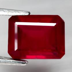 Stunning 3.26ct rich blood red Ruby