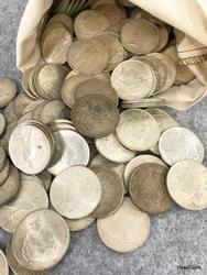 Peace Dollars Circulated 100 pc