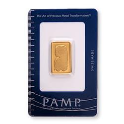 PAMP Suisse 10 Gram Gold Bar