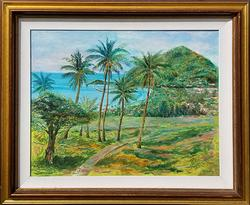 Elegant original Oil on Canva By Manor Shadian
