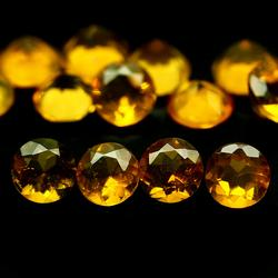 Glowing 2.30ct 4.1mm Mexican Fire Opal set