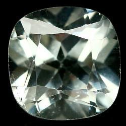 Glittering 3.93ct diamond white Brazilian Topaz