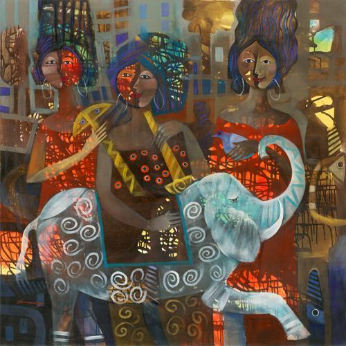 Exquisite Original Art By Cladio Chunga