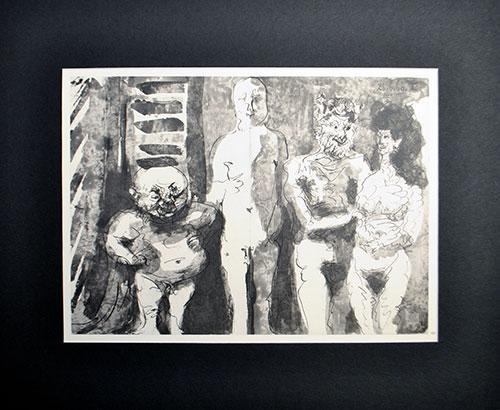 Vintage Pablo Picasso 'A Los Toros' Circa 1961
