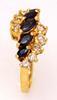 Sapphire & Diamond Ring, Size 6.25