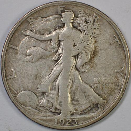 1923 S Walking Liberty Half Dollar Silver Better Coin