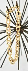 Fancy and Heavy 18K Link Bracelet
