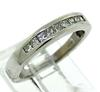 Princess Cut Channel Set Diamond Band