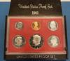 Rare 1981 Type 2 Proof Set