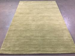 Magnificent Hand Made Wool Solid  Design Rug 6x8