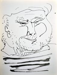 COLLECTIBLE PABLO PICASSO LITHOGRAPH CIRCA 1957