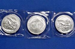 3 x Pan American Silver Corp 1/2oz Silver Bars