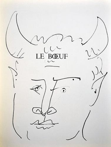 COLLECTIBLE PABLO PICASSO LITHOGRAPH CIRCA 1957